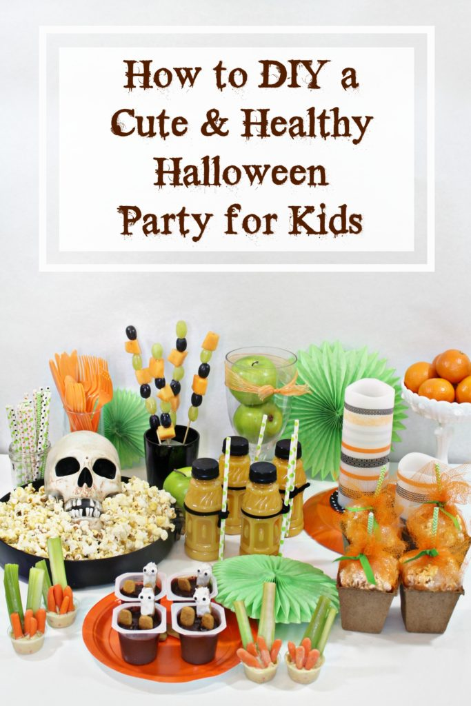How to DIY a Cute and Healthy Halloween Party for Kids - jenny at dapperhouse blog