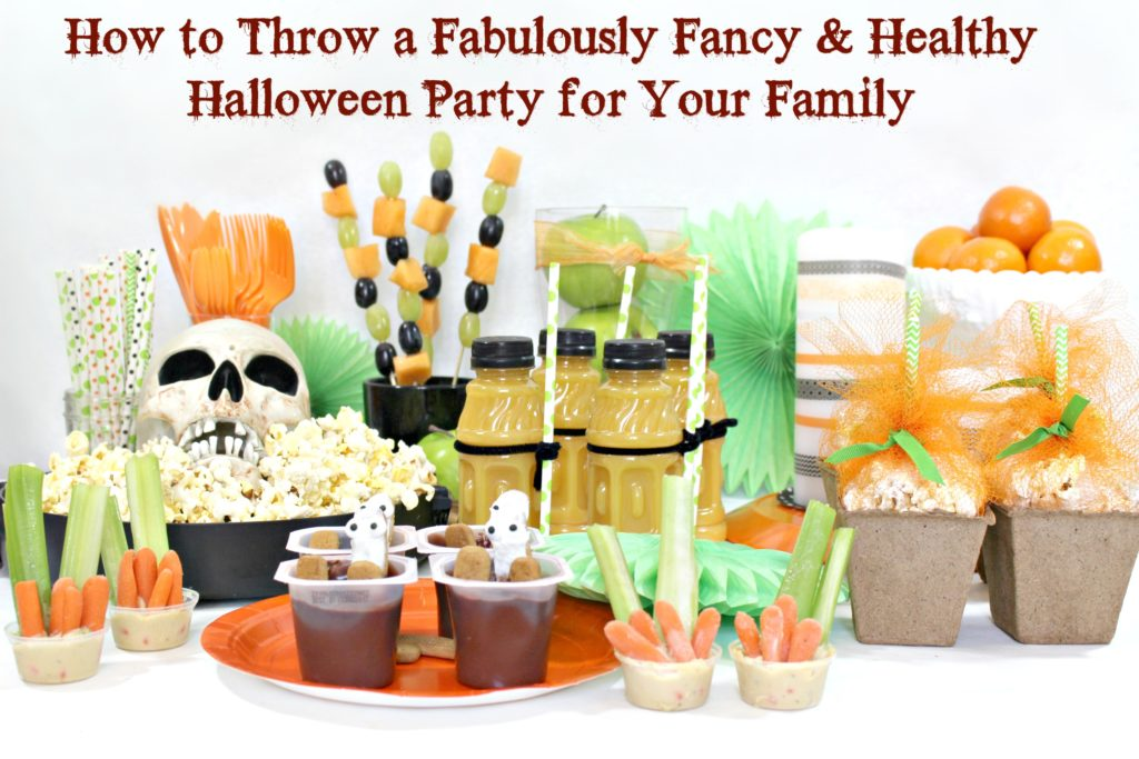 How to throw a fabulously fancy and healthy halloween party for your family - jenny at dapperhouse blog