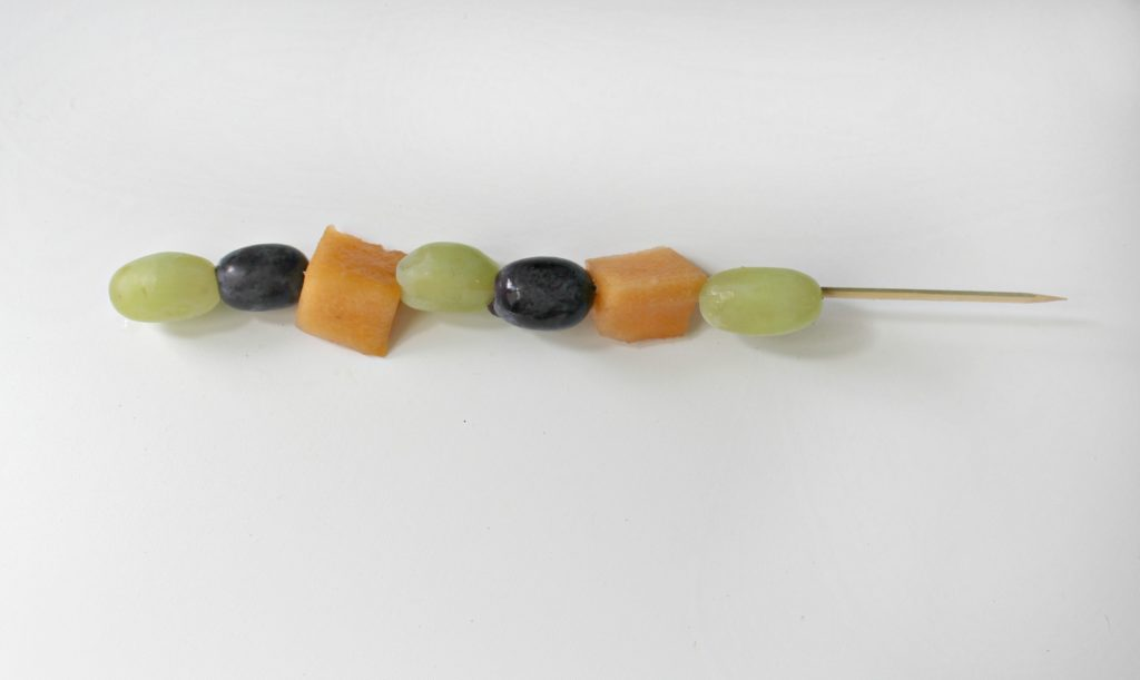 Make these fun Halloween themed healthy fruit skewers for your children - jenny at dapperhouse blog