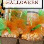 DIY Pumpkin Popcorn Treat Boxes for Halloween Party