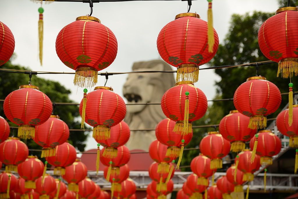 chinese_new_year_decorations_and_the_merlion_statue_sentosa_singapore_-_20150222