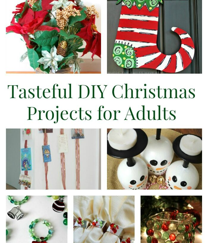 Tasteful DIY Christmas Projects for Grown Ups