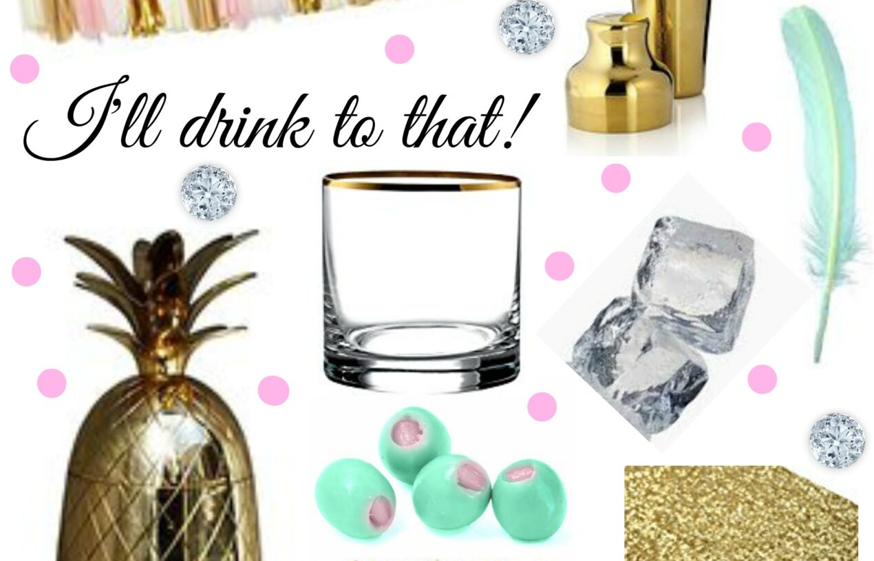 Gold Cocktail and Bar Accessories for the Chic & Stylish