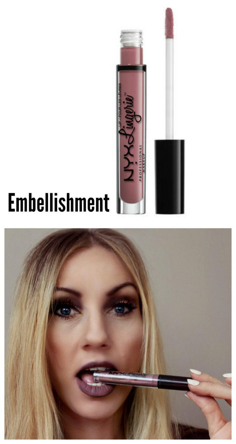 NYX Lip Matte Nude Color Waterproof Matte Lip Gloss