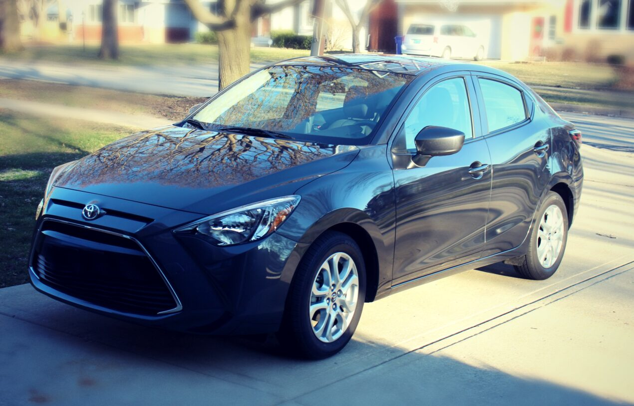 Let's Go Places in the Sporty Toyota Yaris iA Sedan