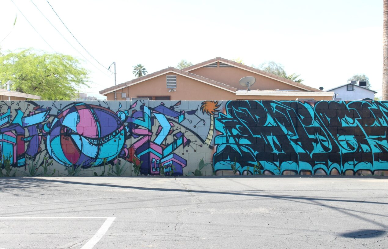 Graffiti & Street Art in Phoenix Arizona (Part 2)