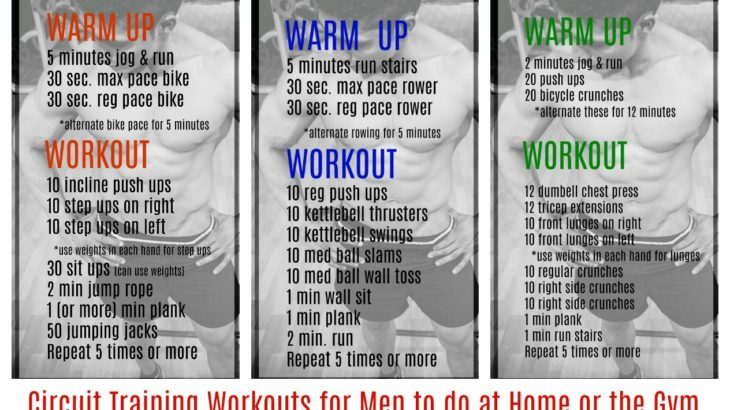Circuit Training Workouts For Men To Do At Home Or The Gym
