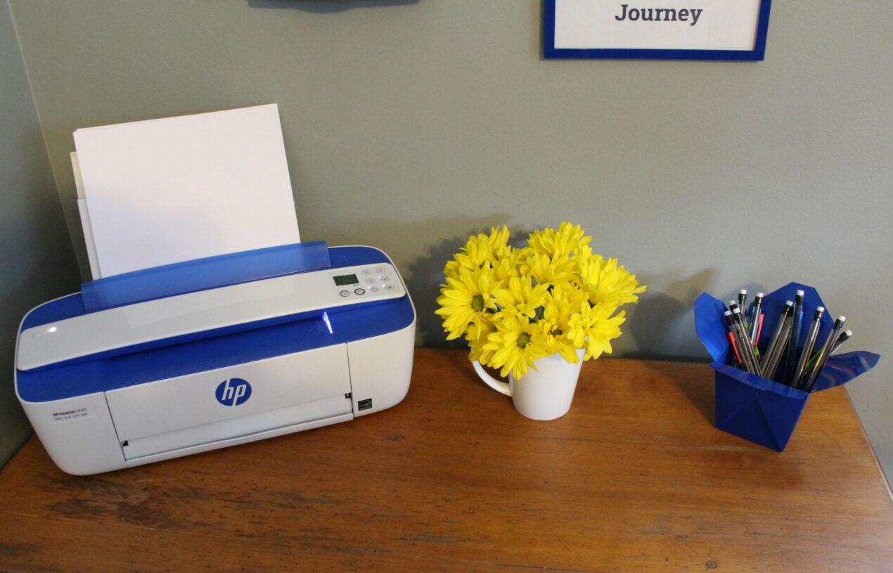 DIY Printing Station for Boys & the Best Printer Ever