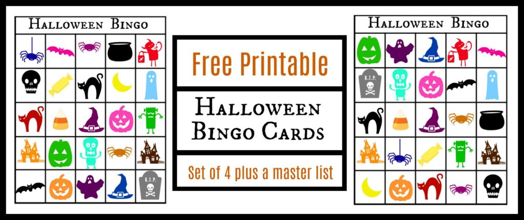 photograph relating to Free Printable Halloween Bingo titled Cost-free Printable Halloween Themed Bingo Playing cards