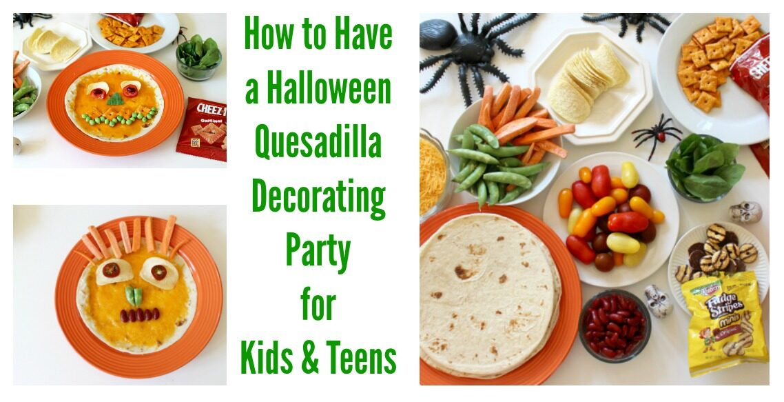 Halloween Quesadilla Monster Faces Party for Kids & Teens