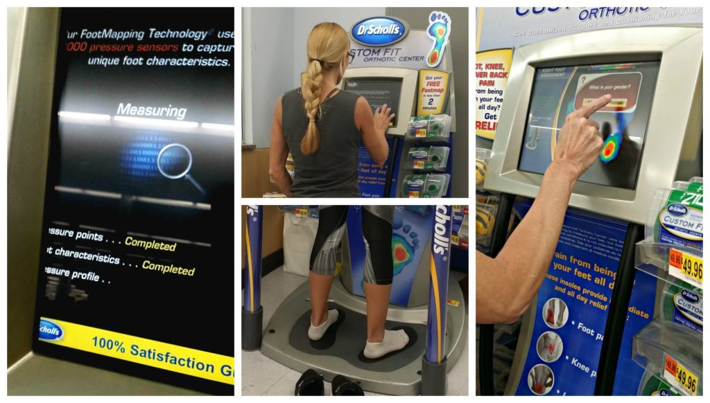 How to Get Custom Fit® Orthotics from Dr. Scholl's® Risk Free So Dr Scholls Foot Mapping Kiosk Locations on