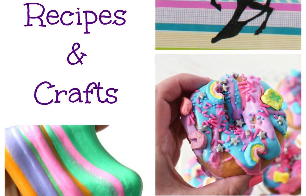 The Best Unicorn Recipes & Crafts
