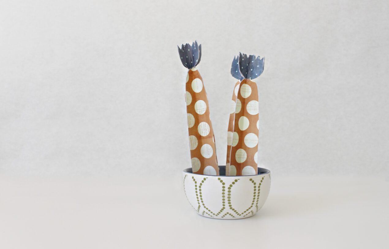 How to make this DIY Paper Fairy Castle or Cereus Tetragonus Cactus
