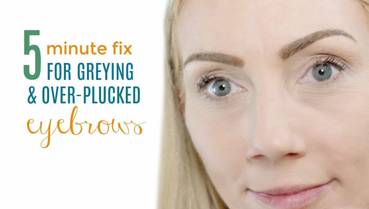 5 Minute Fix for Grey-ing and Over-plucked Eyebrows – Youtube Video