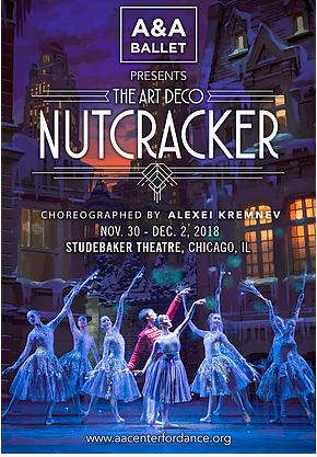 THE ART DECO NUTCRACKER Coming to Chicago's Studebaker Theatre