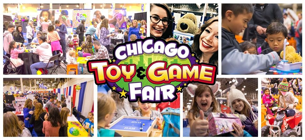 The Chicago Toy & Game Fair is Back in Chicago Nov. 15 – 18