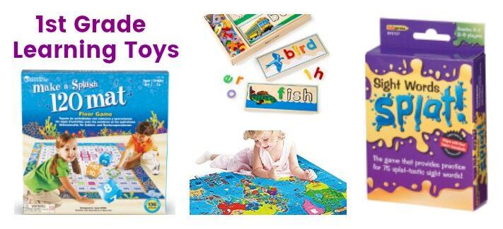 Best Educational Toys for 1st Graders to Learn Over Summer Break