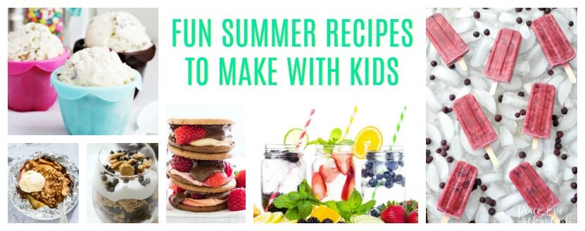 Fun Summer Recipes to Make with Kids