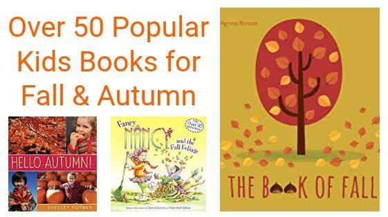 Over 50 Popular Kids Books for Fall & Autumn