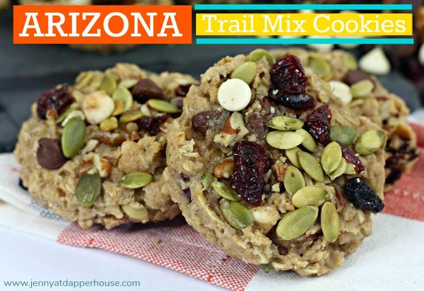 Arizona Trail Mix Cookies