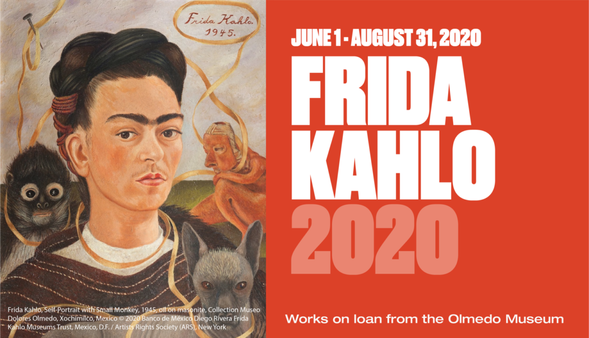 Frida Kahlo Exhibition at the MAC (McAninch Arts Center) at the College of DuPage June 5 to Sept. 6, 2021