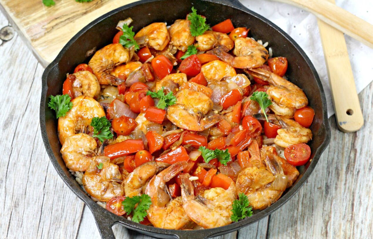 Delicious Spanish Shrimp and Rice Recipe
