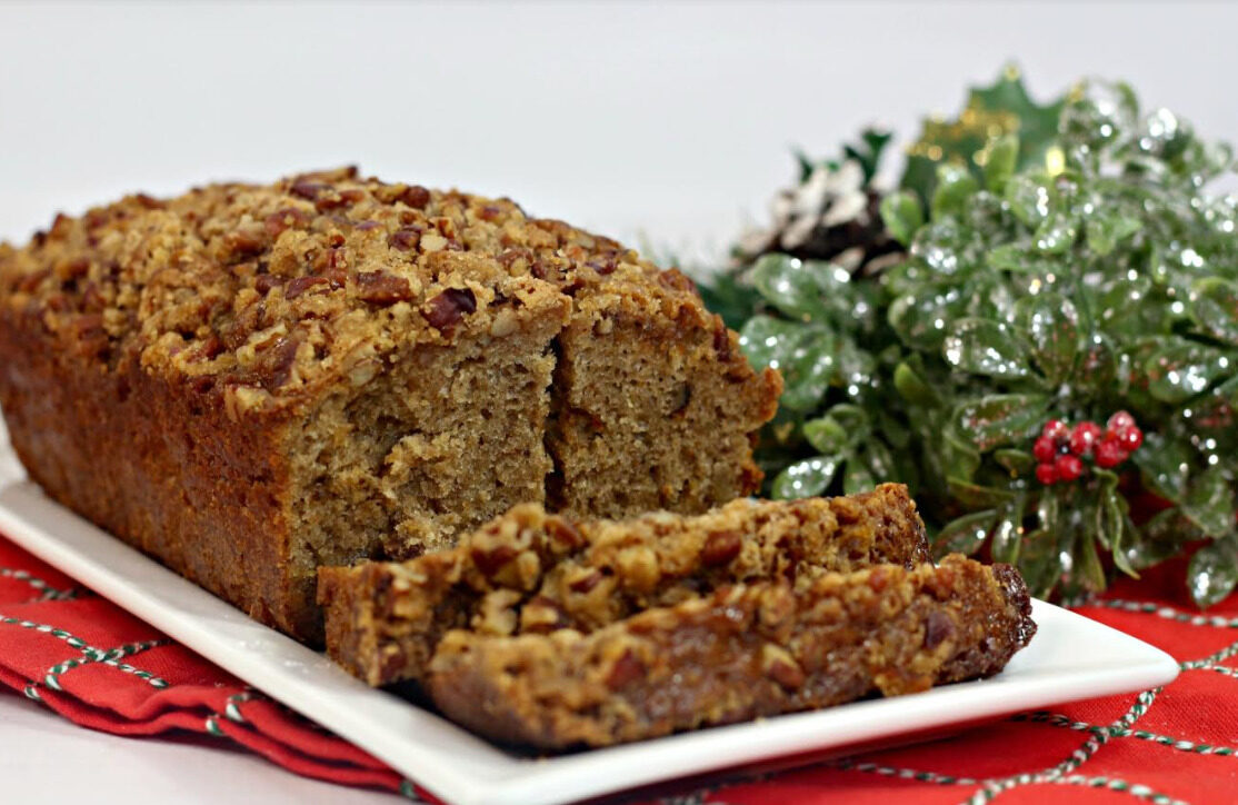 Simply Spiced Ginger Pear Holiday Bread for Friends and Family