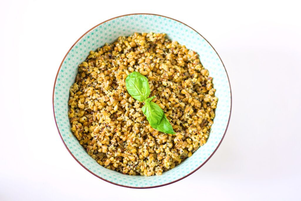Pesto Quinoa Pilaf Recipe