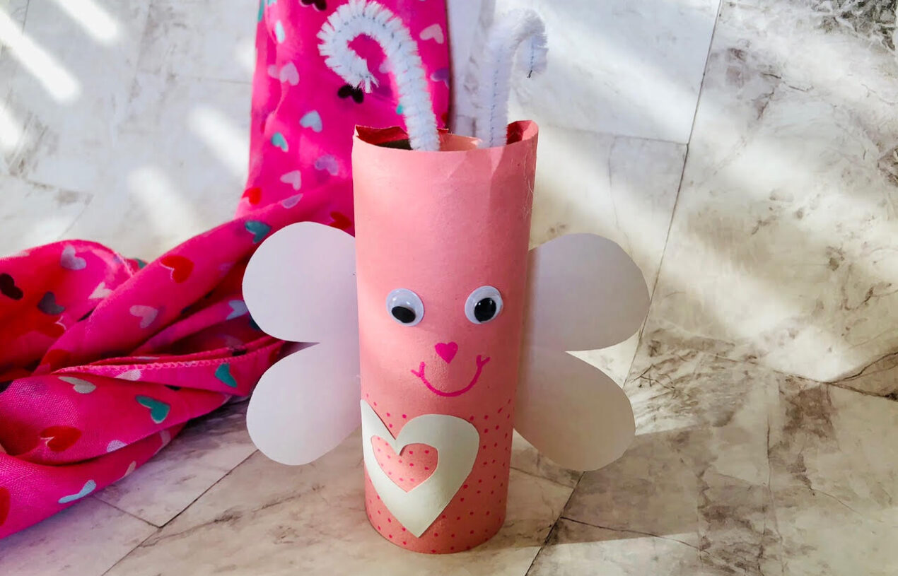 TP Roll Love Bug Easy Kid's Craft