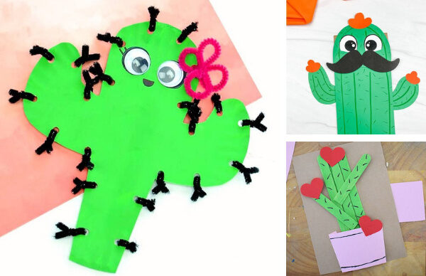 20 of the Cutest Cactus Crafts to DIY